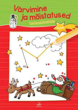 Varvimine ja moistatused lasteaialastele-joulud-kaas